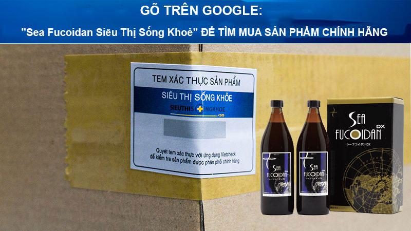 nuoc ho tro tro tri ung thu sea fucoidan dx sieu thi song khoe