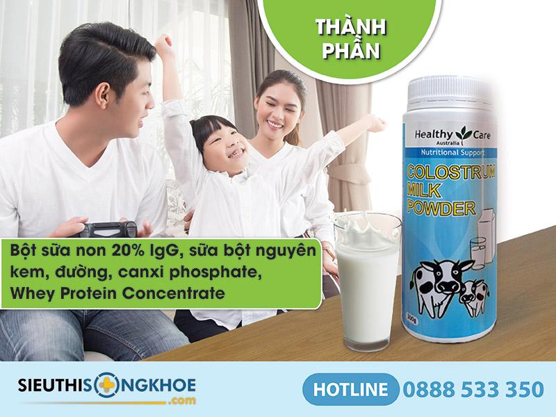 Healthy Care Colostrum Milk Powder