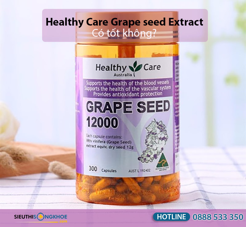healthy care grape seed extract