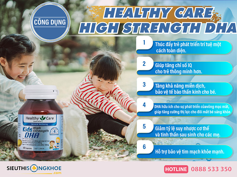 healthy care high strength dha