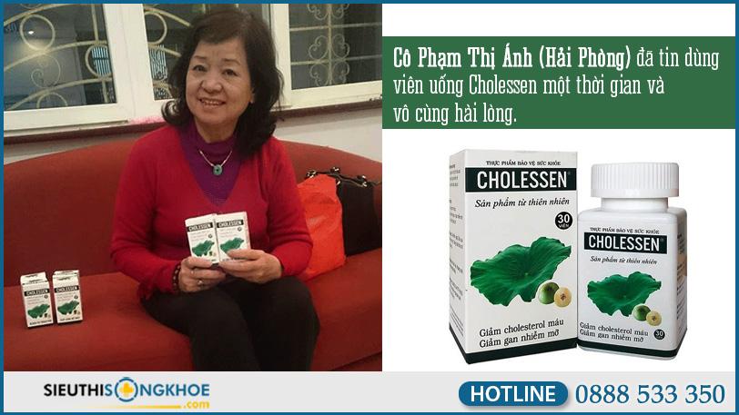 phan hoi khach hang ve cholessen 1