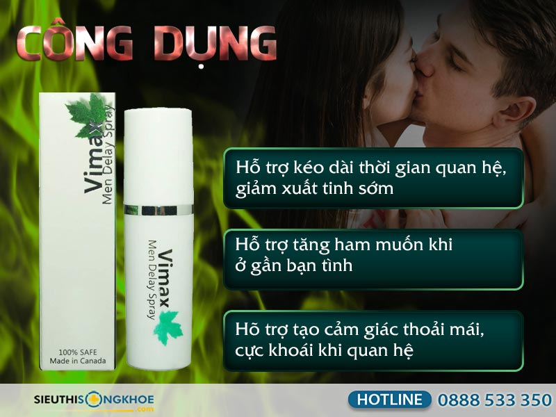 xit chong xuat tinh som vimax men delay spray co tot khong