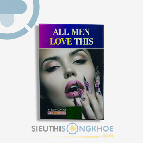 All Men Love This - Hỗ Trợ Tăng Cường Chức Năng Sinh Lý Nữ