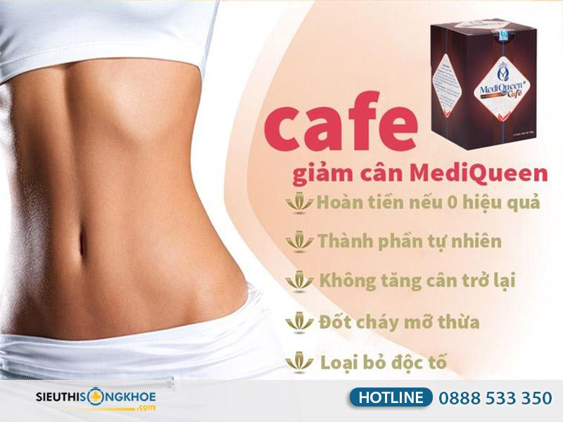 cà phê giảm cân mediqueen có tốt không