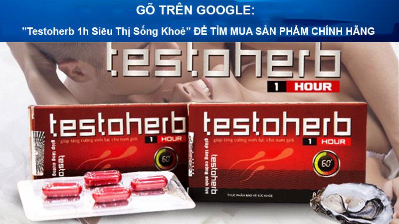 testoherb 1hour có tốt không