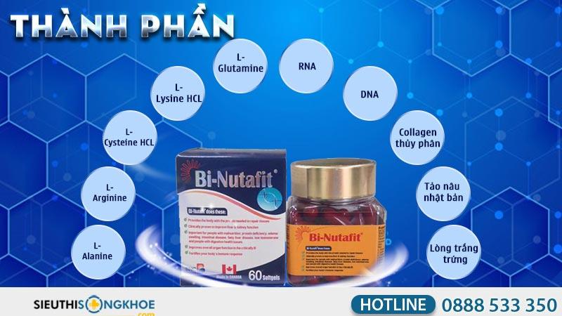 thành phần viên uống bi-nutafit