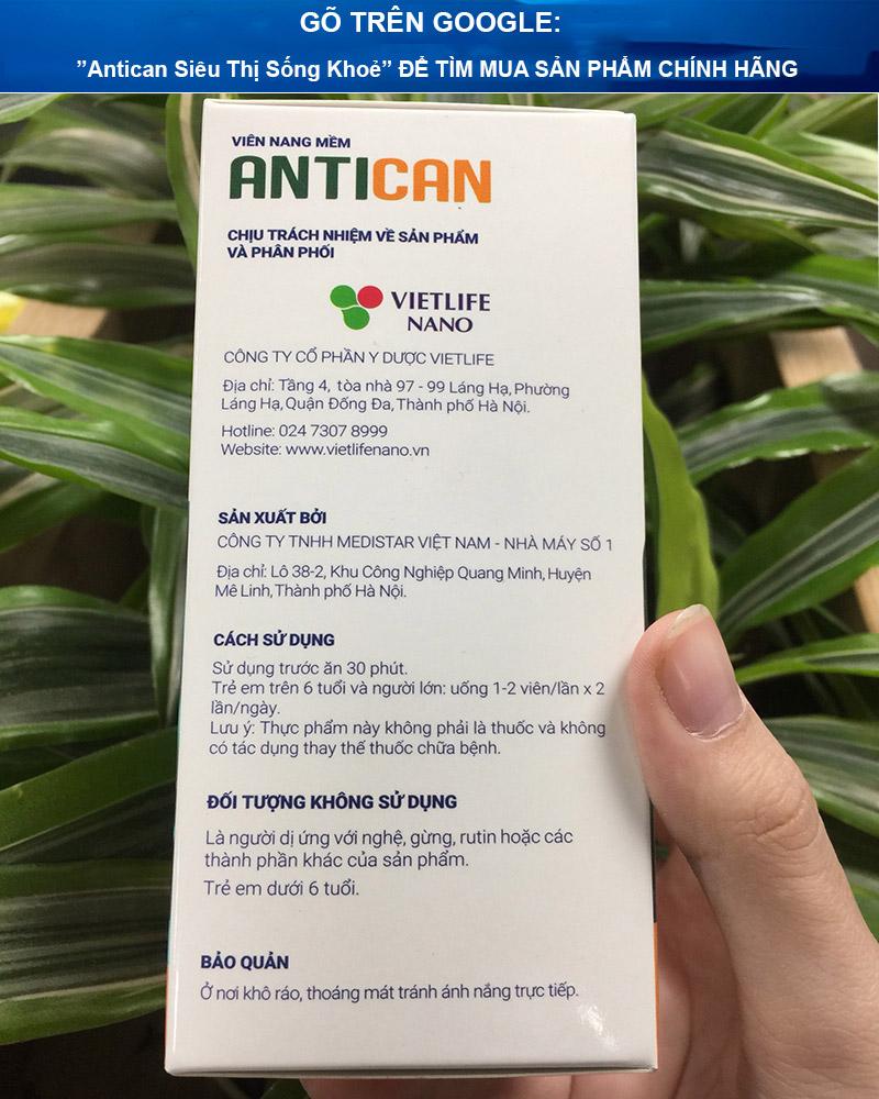 viên uống antican