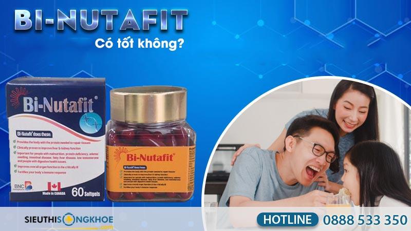 viên uống bi-nutafit có tốt không