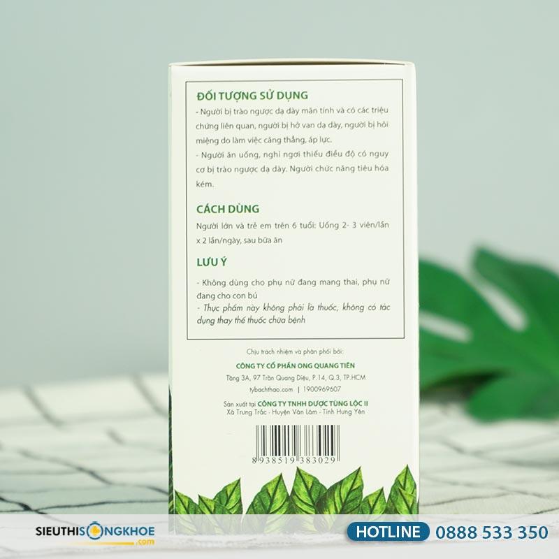 Tỳ Bách Thảo - Sản phẩm Giúp Hỗ Trợ Khử Mùi Hôi Miệng Do Trào Ngược Dạ Dày Gây Nên