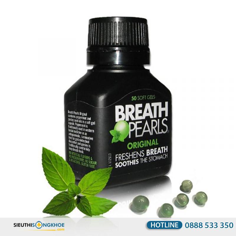 sản phẩm breath pearls